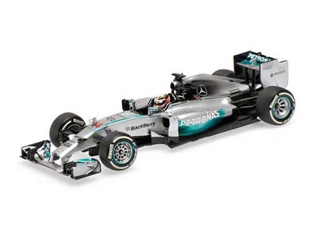 Mercedes AMG Petronas F1 Team #44 W05 2014 Lewis Hamilton Winner Chinese GP Ltd Ed to 660pcs 1/18 Diecast by Minichamps