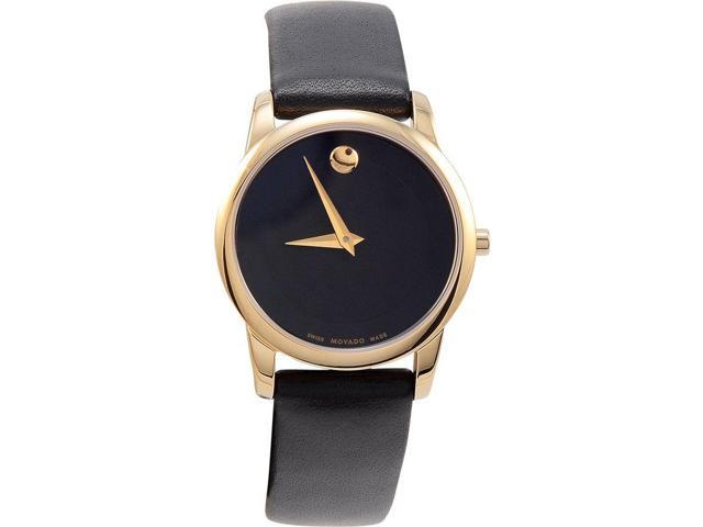 Movado Museum Ladies Leather Watch 0606877