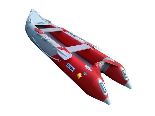Bris 12 ft inflatable kayak boat fishing tender poonton for 12ft fishing kayak