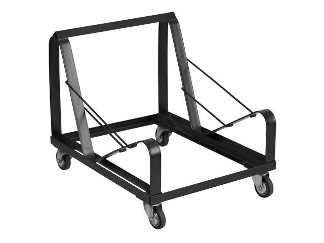 Flash Furniture HERCULES Series Black Steel Sled Base Stack Chair Dolly [XU-MC168-DOLLY-GG]