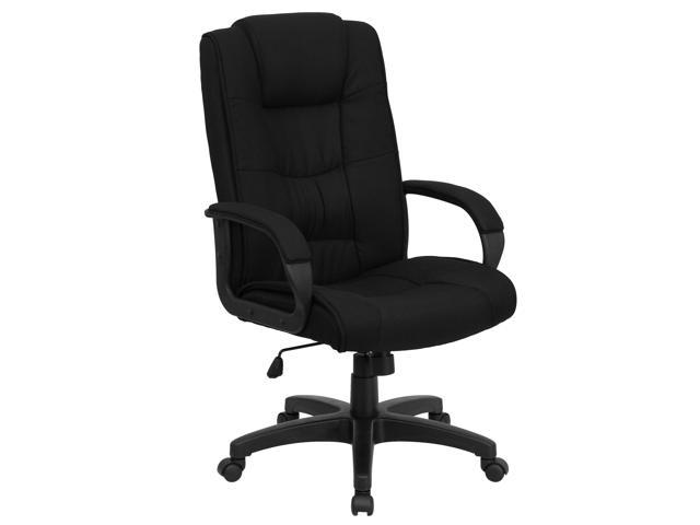 Flash Furniture High Back Black Fabric Executive Office Chair [GO-5301B-BK-GG]