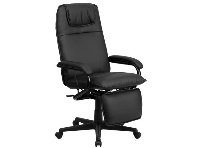 Flash Furniture High Back Black Leather Executive Reclining Office Chair Bt 70172 Bk