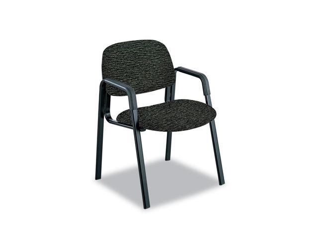 Cava Urth Collection Straight Leg Guest Chair, Black