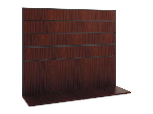 Manage Series Work Wall, Laminate, 60w X 17d X 50h, Chestnut
