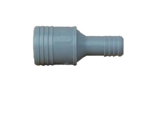 Insert Coupling Poly 2X1-1/2 GENOVA PRODUCTS INC Insert Fittings 350121