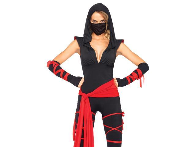 Leg Avenue Women's 4PC. Deadly Ninja Costume