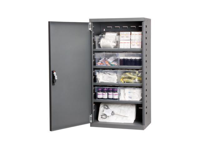 Akromils Textured Charcoal Mini-Cabinet w/ 31182