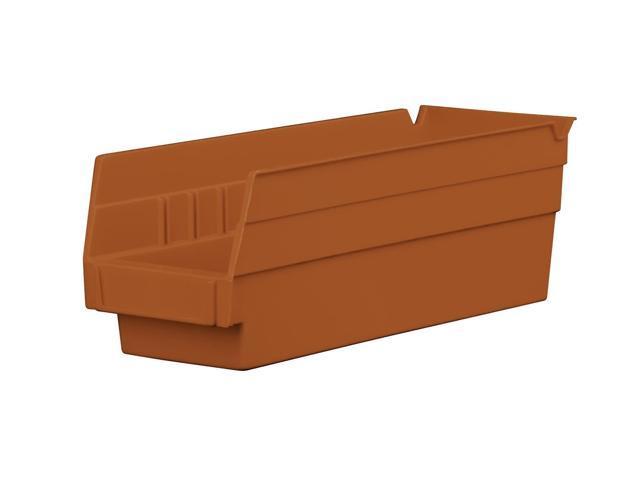 Home Indoor Outdoor Storage Shelf Bins Terra Cotta Earth Saver 24Pk 11.62 X 4.12 X 4