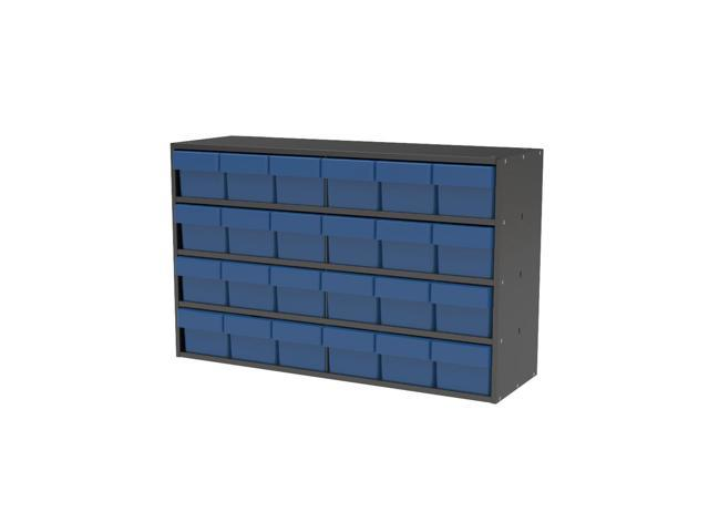 Akromils Textured Charcoal Cabinet w/ 31162 Blue