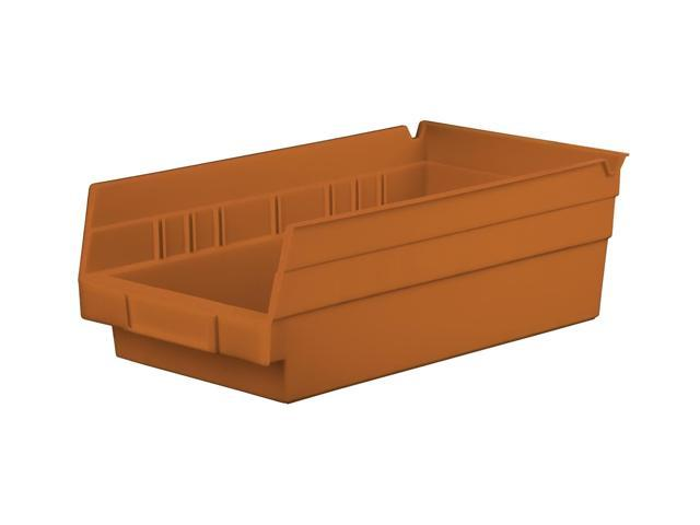 Home Indoor Outdoor Storage Shelf Bins Terra Cotta Earth Saver 12Pk 11.62 X 6.62 X 4