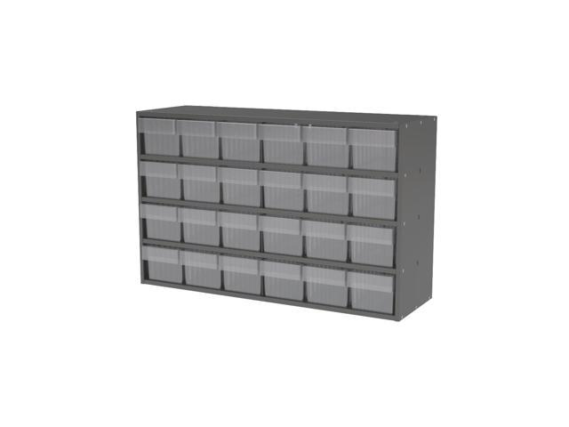Akromils Textured Charcoal Cabinet w/ 31162 Crystal Clear