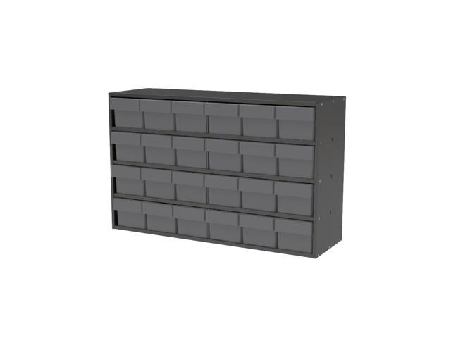 Akromils Textured Charcoal Cabinet w/ 31162 Grey