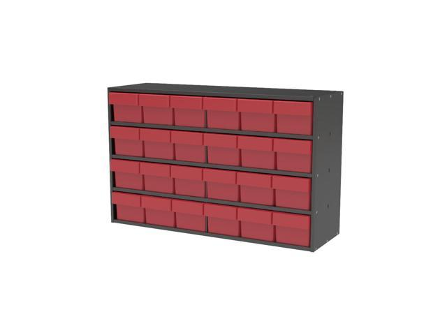 Akromils Textured Charcoal Cabinet w/ 31162 Red