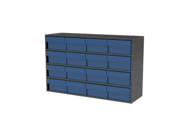Akromils Textured Charcoal Cabinet w/ 31182 Blue