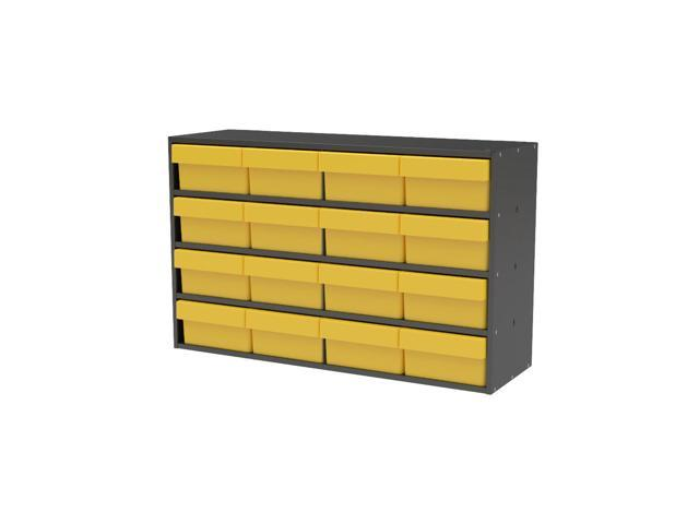 Akromils Textured Charcoal Cabinet w/ 31182 Yellow