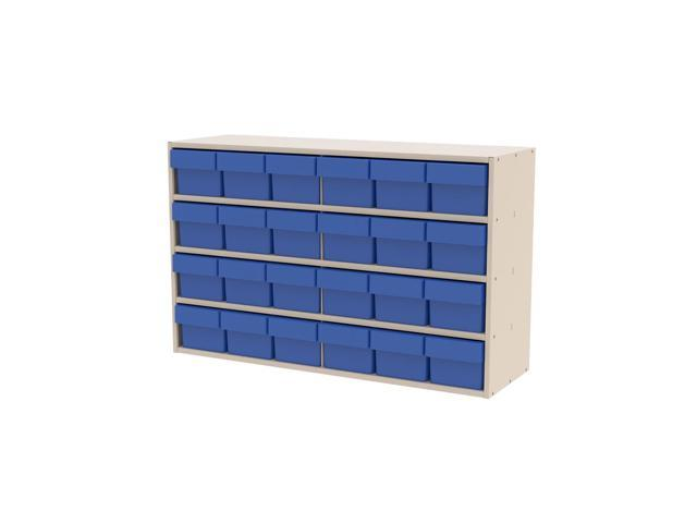 Akromils Textured Putty Cabinet w/ 31162 Blue