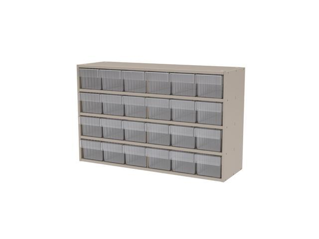 Akromils Textured Putty Cabinet w/ 31162 Crystal Clear