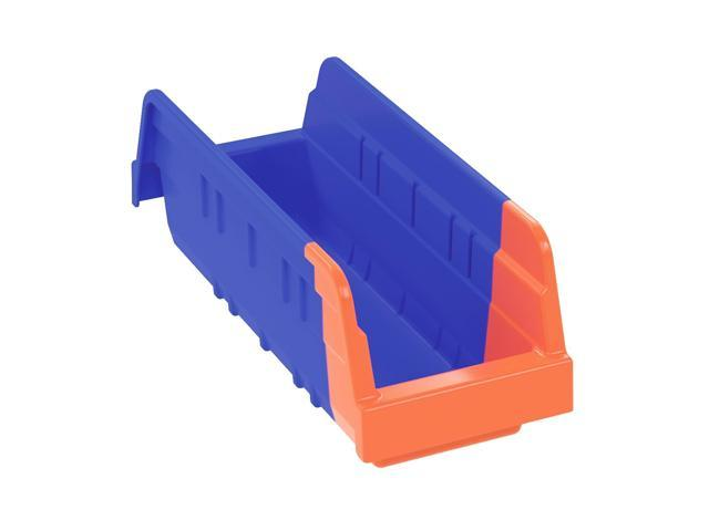 Akromils Indicator Bin Blue/orange 24Pack - 11.62x 4.25x 4