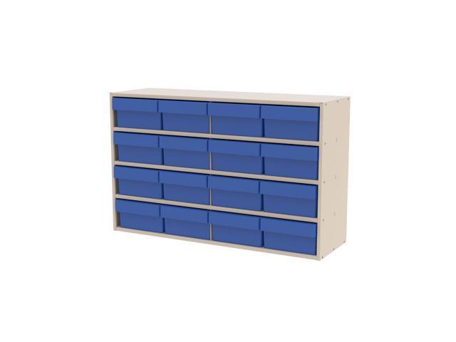 Akromils Textured Putty Cabinet w/ 31182 Blue