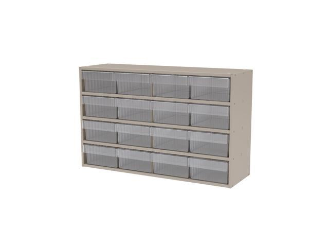 Akromils Textured Putty Cabinet w/ 31182Crystal Clear