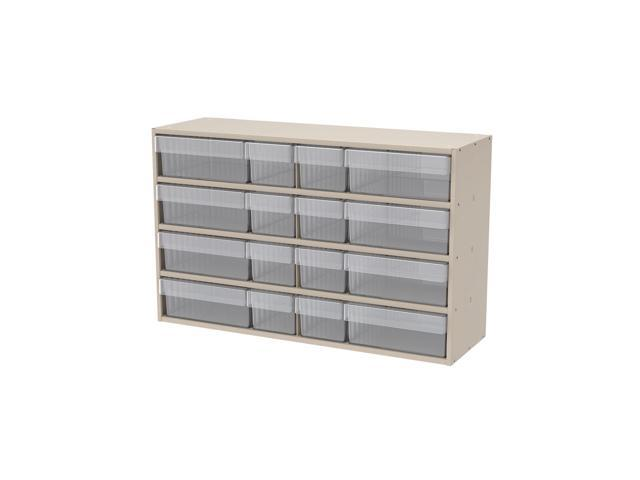 Akromils Textured Putty Cabinet w/ 31112 & 31162 Crystal Clear