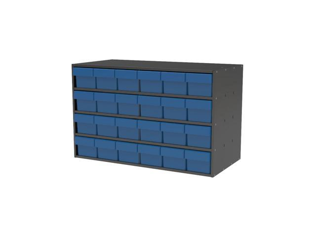 Akromils Textured Charcoal Cabinet with 31168 Blue