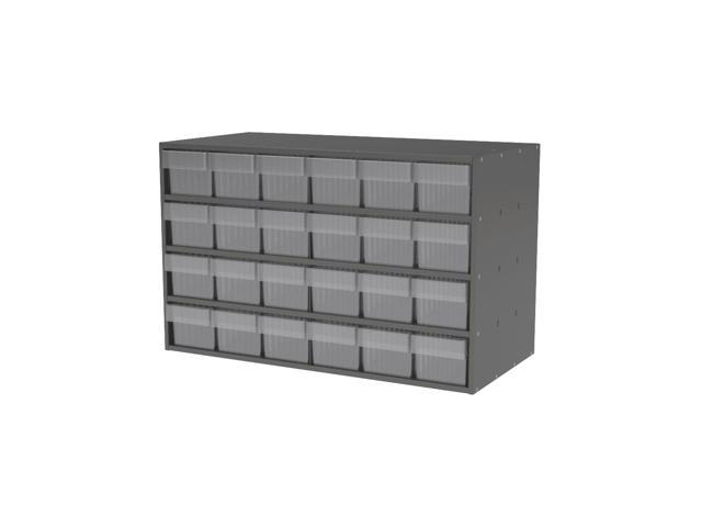 Akromils Textured Charcoal Cabinet with 31168 Crystal Clear
