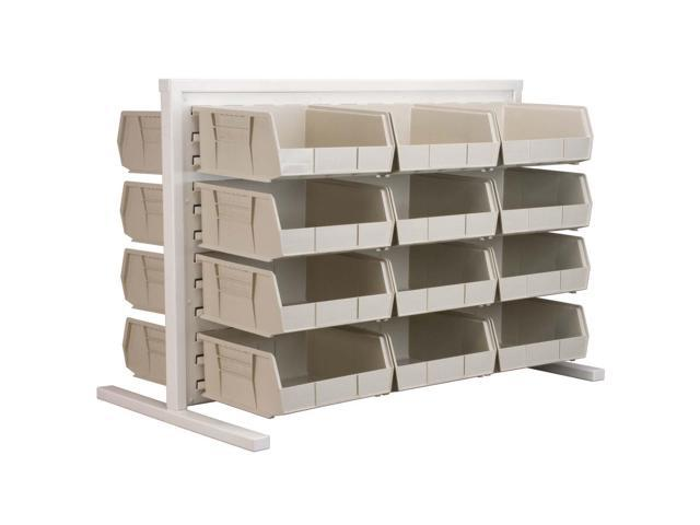Akromils Double - Sided Rack with 30235stone Bins 5 Pack