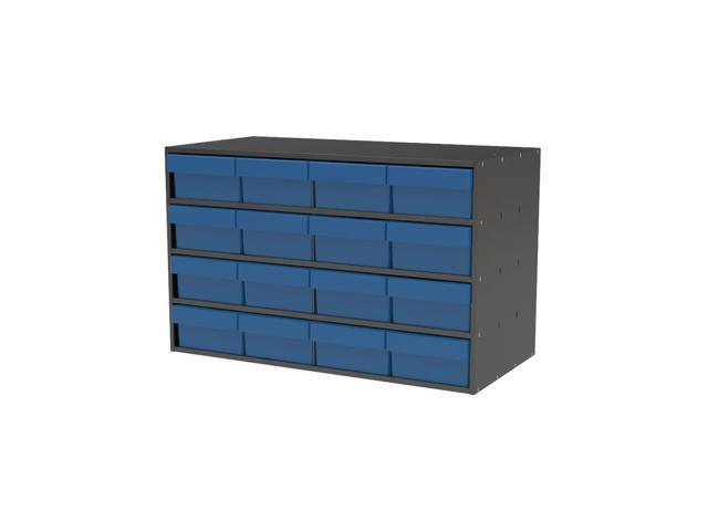 Akromils Textured Charcoal Cabinet with 31188 Blue