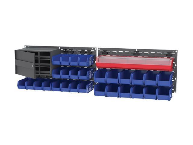 Akromils Truck Mobile Louvered Panel Bin Retainer Clip Plastic 6Pack 24 Packs/Carton
