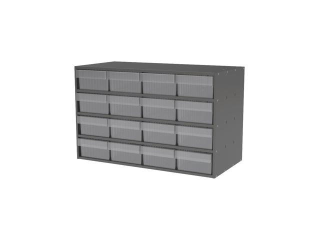 Akromils Textured Charcoal Cabinet with 31188 Crystal Clear