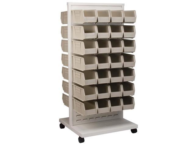 Akromils Rack with 30230stone Bins 6 Pack