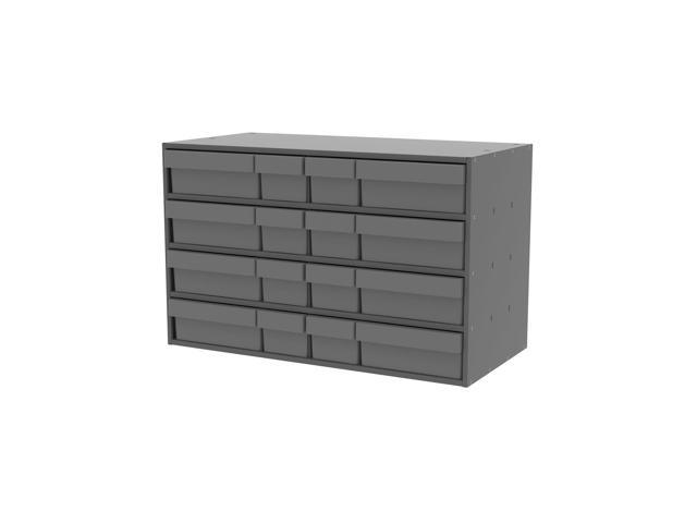 Akromils Textured Charcoal Cabinet with 31118 & 31168 Grey