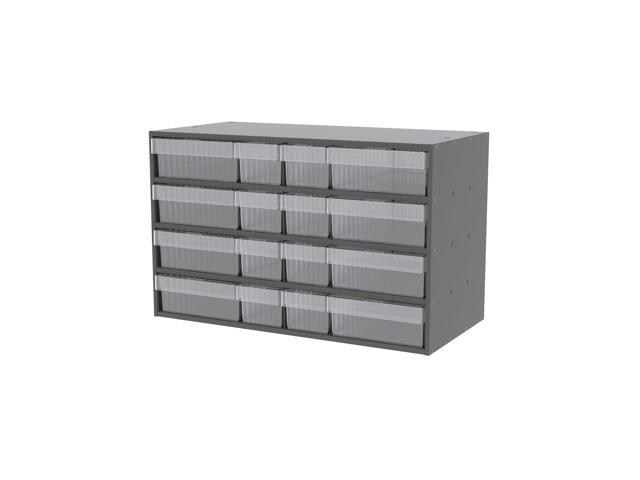 Akromils Textured Charcoal Cabinet with 31118 & 31168 Crystal Clear