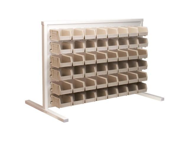 Akromils Single - Sided Rack with 30210stone Bins 3 Pack