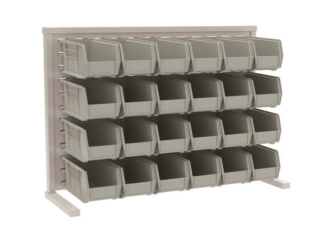 Akromils Single - Sided Rack with 30230stone Bins 3 Pack
