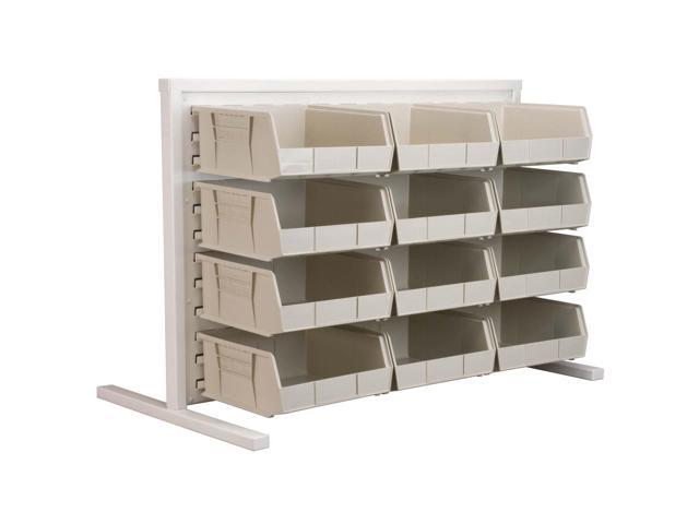 Akromils Single - Sided Rack with 30235stone Bins 3 Pack