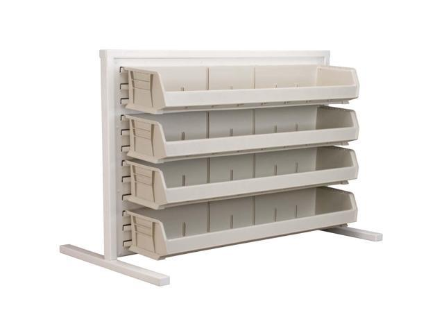 Akromils Single - Sided Rack with 30320stone Bins 2Pack