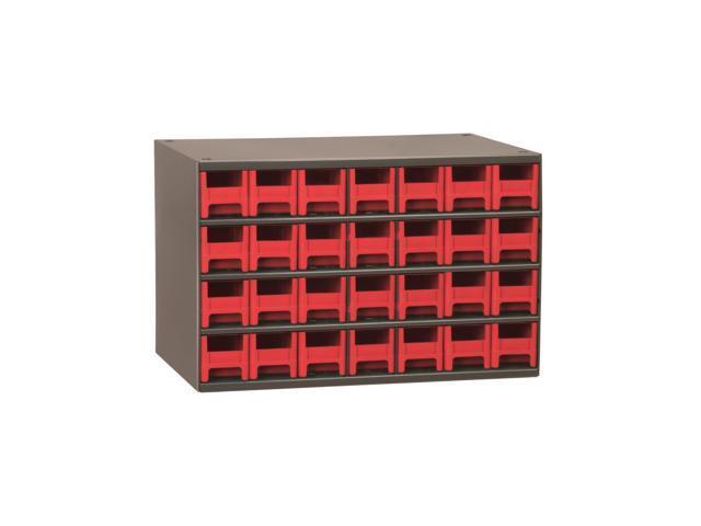 Akromils 28-Series Steel Storage 9 Drawer Cabine Red