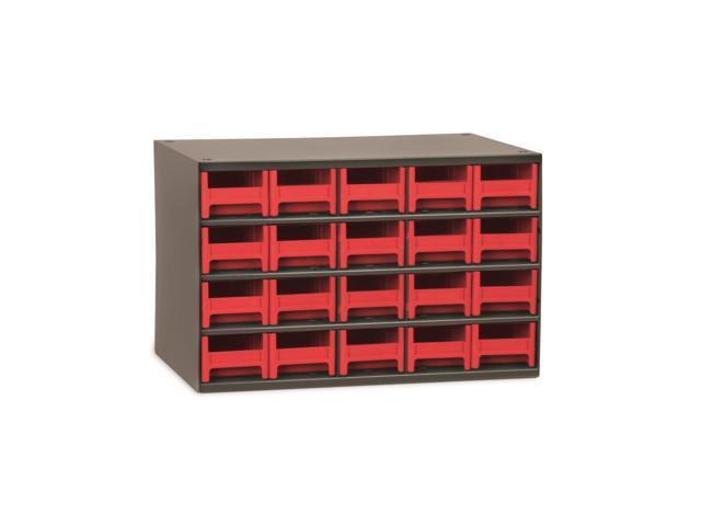 Akromils 20-Series Steel Storage 9 Drawer Cabine Red