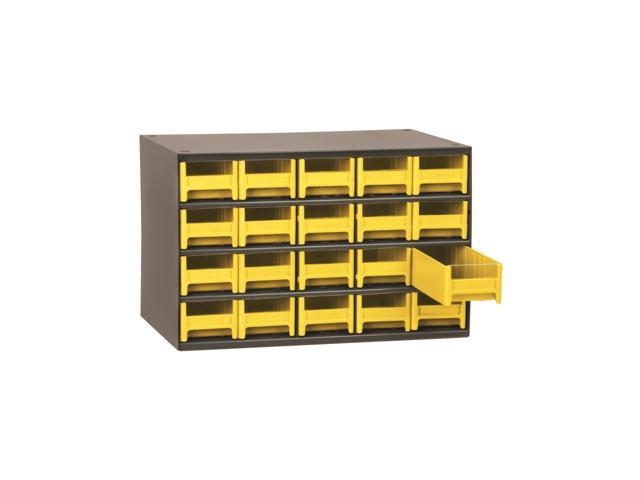 Akromils 20-Series Steel Storage 9 Drawer Cabine Yellow