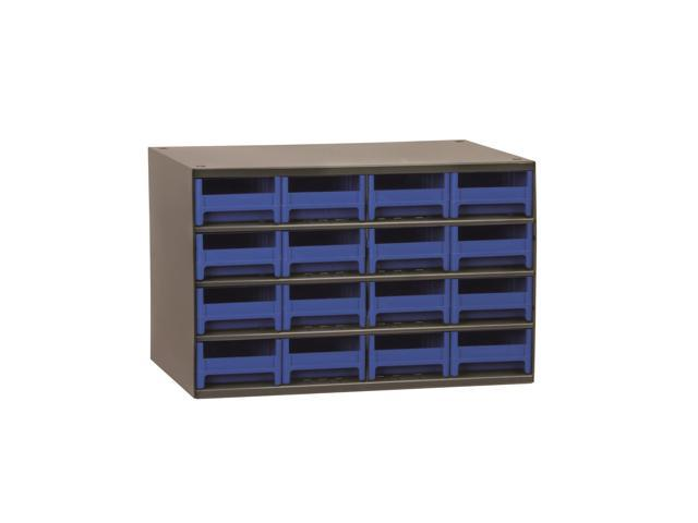 Akromils 16-Series Steel Storage 9 Drawer Cabine Blue