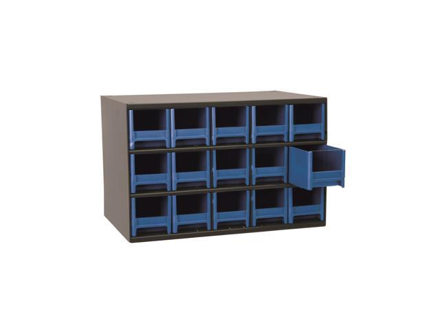 Akromils 15-Series Steel Storage 9 Drawer Cabine Blue