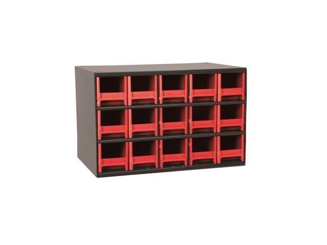 Akromils 15-Series Steel Storage 9 Drawer Cabine Red