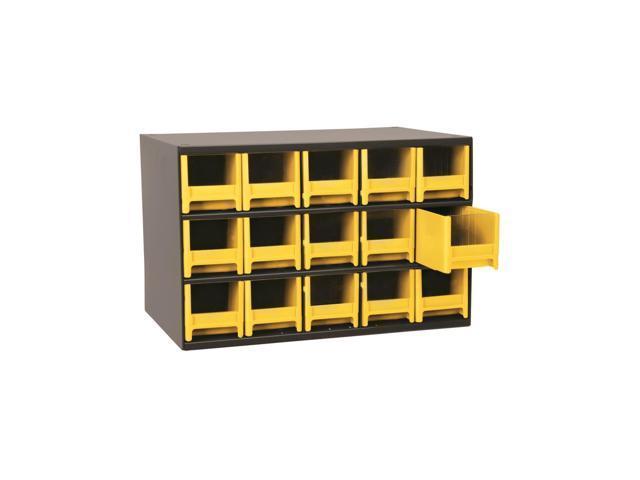 Akromils 15-Series Steel Storage 9 Drawer Cabine Yellow