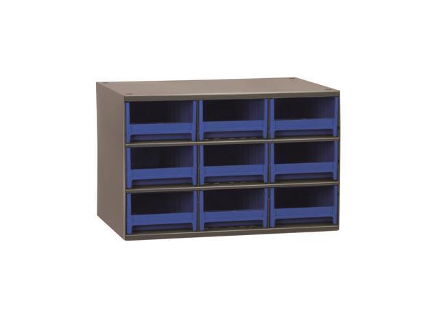 Akromils 19-Series Steel Storage 9 Drawer Cabine Blue