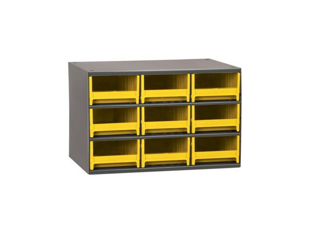 Akromils 19-Series Steel Storage 9 Drawer Cabine Yellow