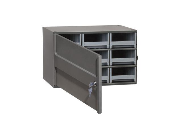 Akromils 9 Drawer Security Cabinet Grey Drawers Only