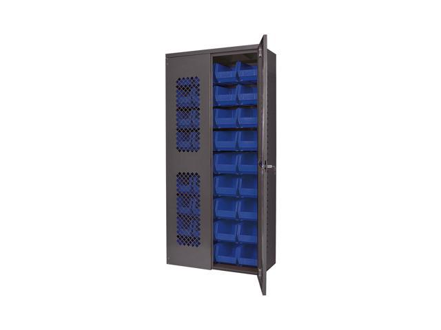 Akromils Cabinet with Blue AkroBins