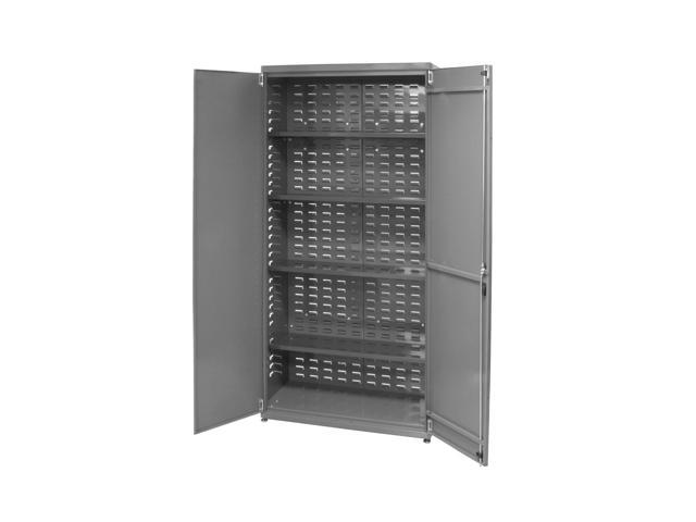 Akromils Ready to Assemble Bin Cabinet w/ 4 Shelves